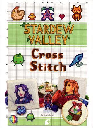 stardew valley cross stitch  gina coleman
