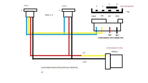 Pc Cooling Fan Wiring Diagram by My Mod G5 Tonymacx86
