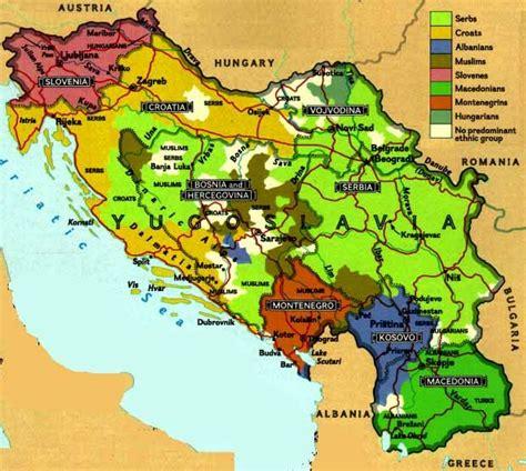 map     yugoslavia  map history