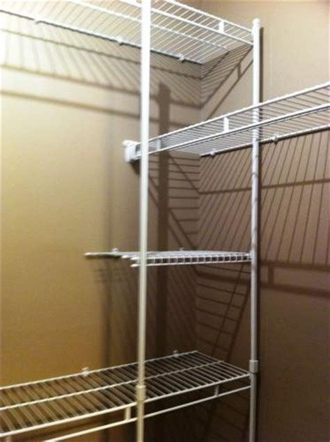 how to clean closetmaid wire shelving 17 images about closet shelving on