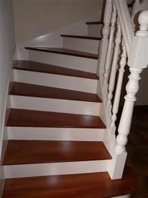 Renovation Escalier En Bois Peinture by R 233 Novation D Escalier 224 Vannes Parquets Le Mentec Vannes
