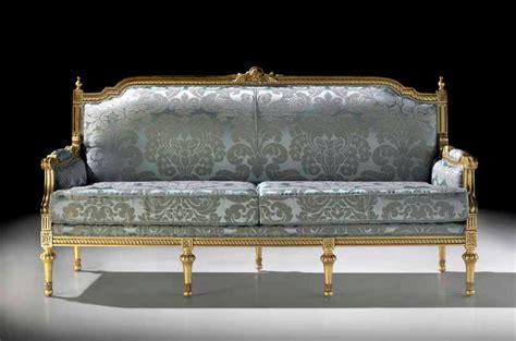 canapé louis xvi meubles baroques meubles sur mesure hifigeny