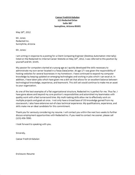 what to put on a cover letter what to put in a cover letter letters free sle letters