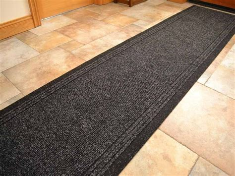 Rubber Backed Carpet Runners Doormats by Black Heavy Duty Non Slip Rubber Backed Runners