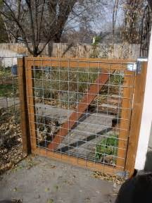 how to build a gate for a wire fence woodworking