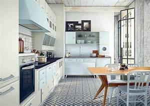 deco cuisine retro et campagne chic 33 idees a piquer With idee deco cuisine avec objet design