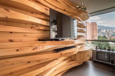 accent wall wood warmth and texture 10 unique living room wood accent walls