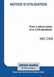 Four Arthur Martin : mode d 39 emploi four micro onde arthur martin mg 2406 trouver une solution un probl me arthur ~ Medecine-chirurgie-esthetiques.com Avis de Voitures