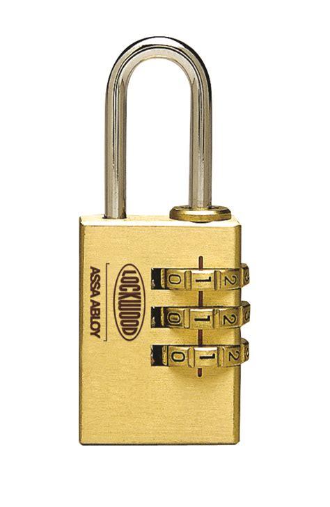 lockwood solid brass  series combination padlocks lockwood australia