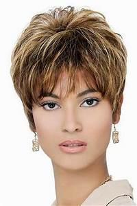 Coupe Courte Visage Ovale : coiffure visage ovale femme 50 ans ~ Melissatoandfro.com Idées de Décoration