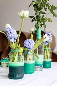 Frühlingsdeko Im Glas : fr hlingsdeko im glas 35 sch ne ideen mit blumen ~ Orissabook.com Haus und Dekorationen