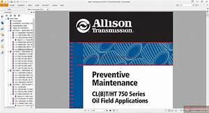 Keygen Autorepairmanuals Ws  Allison Transmission 750