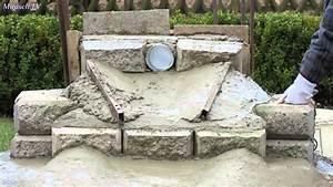Kleiner Gartenteich Anlegen : wasserfall in meinem garten bauen video 2 youtube ~ Michelbontemps.com Haus und Dekorationen