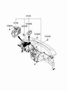 919503k010 - Hyundai Junction Box Assembly  Pnl