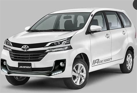 Review Toyota Avanza 2019 by Review Toyota Avanza Facelift 2019 Garuda News