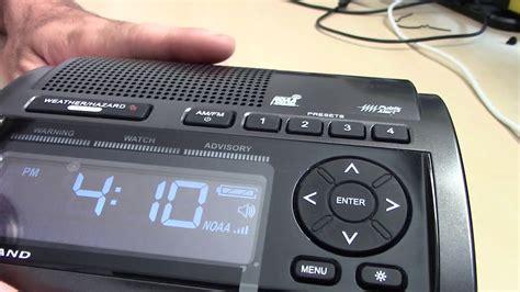 weather radios alert eas technology