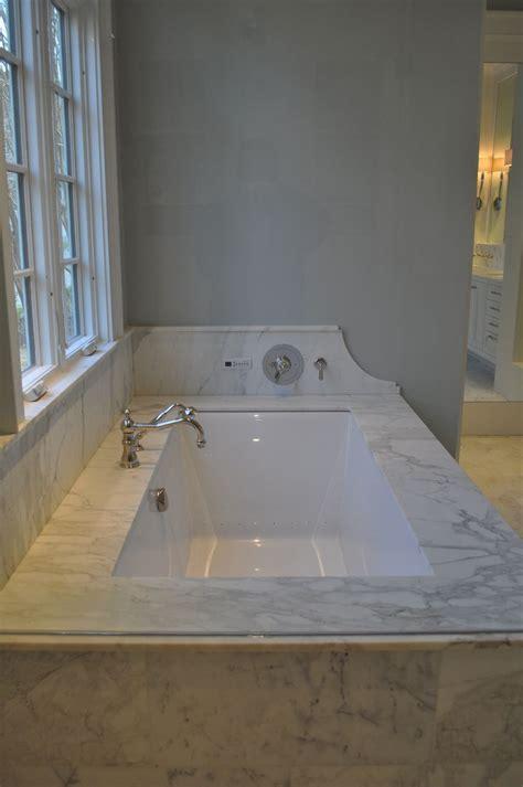 undermount tub master bath remodel small bathroom