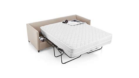 Sleeper Sofa With Air Mattress by Dryden Sleeper Sofa With Air Mattress Flax