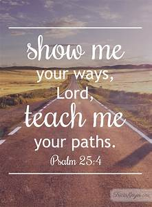Your Ways Psalm 254 5 Tricia Goyer