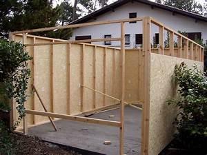 Garage Ossature Bois : aquitania domus garage ossature bois cr ation ~ Melissatoandfro.com Idées de Décoration
