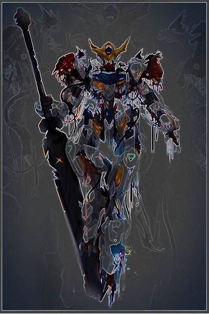 Barbatos Wallpapers Lupus Gundam Rex 4k Wallpaperaccess