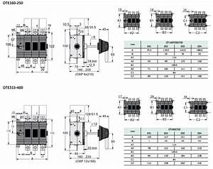Ote Manual Power Transfer Switch    Isolation Switch    Load