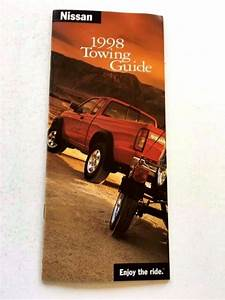 1998 Nissan Towing Payload 38-page Brochure Guide
