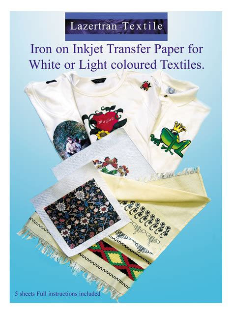 light transfer paper instructions heat transfer paper iron on fabric diy crafts