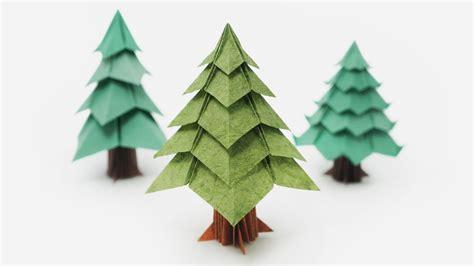 origami christmas tree jo nakashima viyoutube