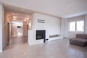 Interni Moderni In Casa Di Lusso  U2014 Foto Stock