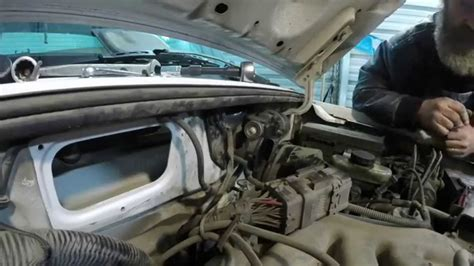 2000 Ford Ranger Motor by 2000 Ford Ranger Wiper Motor Remove And Reinstall