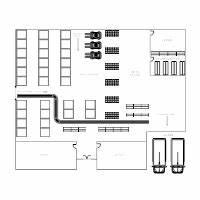Floor plan examples for Warehouse floor plan template