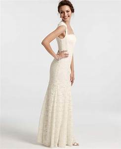 lyst ann taylor petite isabella lace wedding dress in white With petite lace wedding dresses