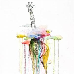 Malen Mit Wasserfarben : vermischt getrocknete wasserfarbe mit frischer kunst malen leinwand ~ Orissabook.com Haus und Dekorationen