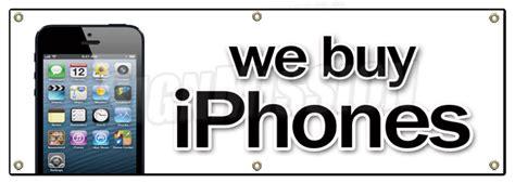 we buy iphones 72 quot we buy iphones banner sign computers smart phones