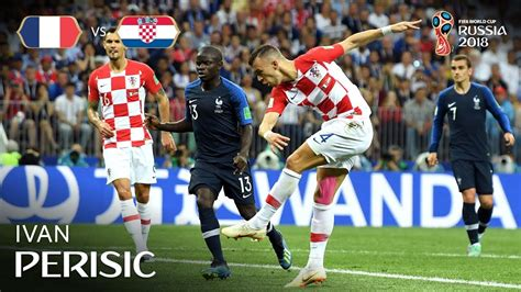 Ivan Perisic Goal France Croatia Fifa World Cup