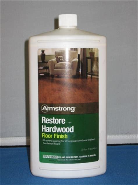 Armstrong Hardwood Restore Finish