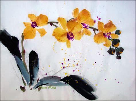 chinese brush painting diana wong paintings