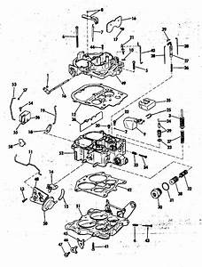 Omc Stern Drive Carburetor Group 305