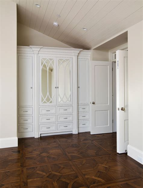 Bedroom Cabinet Design Ideas by Painted Built In Cabinets Traditional Bedroom San