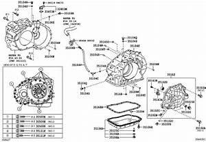 3516808010 - Automatic Transmission Oil Pan Gasket  Gasket  Transaxle Oil