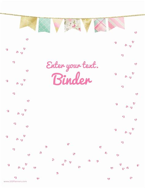 cover template free binder cover templates customize print at home free