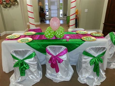 Pink Green Yellow Baby Shower by Pink And Lime Green Baby Shower Baby Shower
