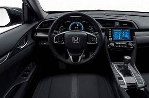 Updated Honda Civic Gets Styling And Interior Tweaks