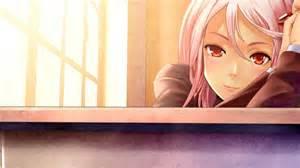 Red Eyes Smiling Blush Anime Anime Girls Guilty