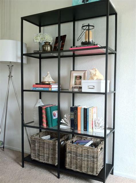 Alternative Mobel by Sl Designs Ikea Vittsjo Bookcase In The Living Room