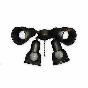 Ceiling spot light kits : Fl universal ceiling fan light kit modern outlet