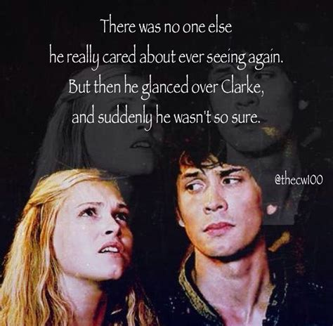 The 100 Quotes 121 Best The 100 Quotes Images On Bellarke