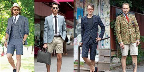 tips   memakai celana pendek pria  keren