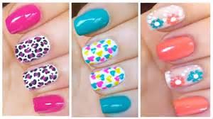 Cute nail art designs for spring summer